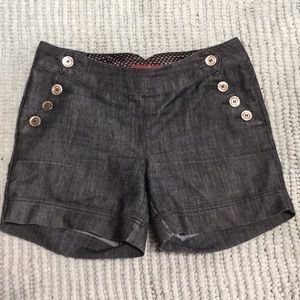 Sailor High waisted Button Up Shorts